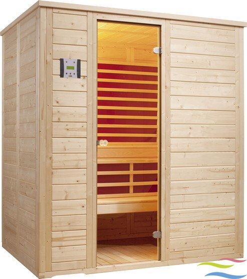 Sauna - Infraworld Vitalis 184 FH - Klicken Sie auf das Bild um die Galerie zu öffnen