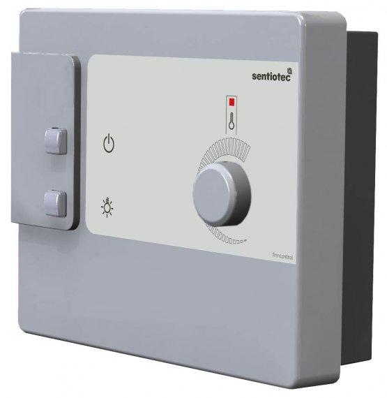 Saunasteuerung - Sentiotec Finncontrol DC9 - Klicken Sie auf das Bild um die Galerie zu öffnen
