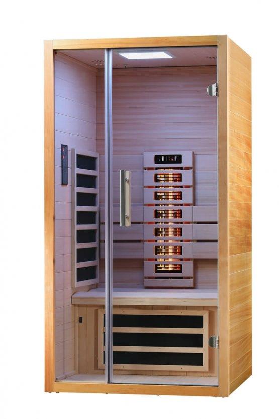 Infrarotkabine - Infraworld Vitalhome Sunlight 90 - Klicken Sie auf das Bild um die Galerie zu öffnen