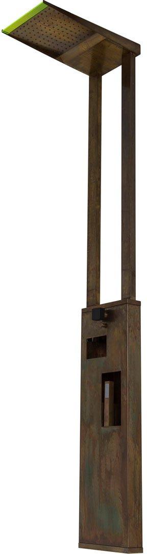 Gartendusche - Tender Rain Menhir - Klicken Sie auf das Bild um die Galerie zu öffnen