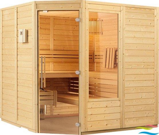 Sauna - Viliv Klassik Eck - Klicken Sie auf das Bild um die Galerie zu öffnen