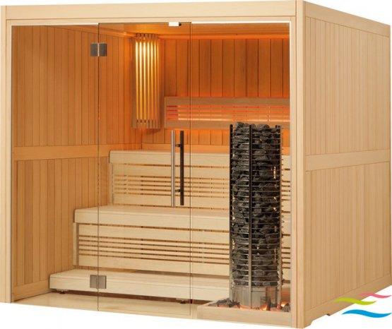 Sauna - Viliv Komfort Plus (Grundpreis) - Klicken Sie auf das Bild um die Galerie zu öffnen