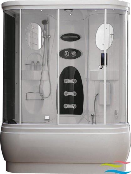 Dampfdusche mit Whirlpool - Wellgems L527 - Klicken Sie auf das Bild um die Galerie zu öffnen