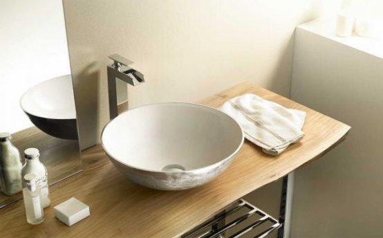 Waschtischplatte - Bathco Akazie