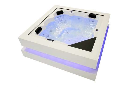 Aussenwhirlpool - AquaVia Spa Cube Ergo