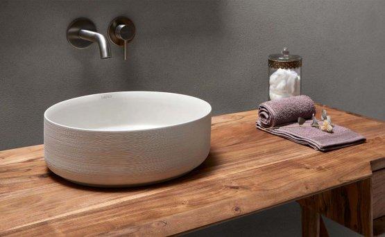 Aufsatzwaschbecken - Bathco Carnac Cru