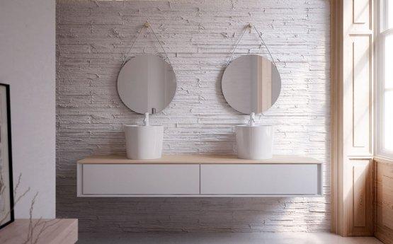 Aufsatzwaschbecken - Bathco Florencia B