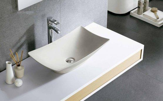 Aufsatzwaschbecken - Bathco New Magdalena B Cru