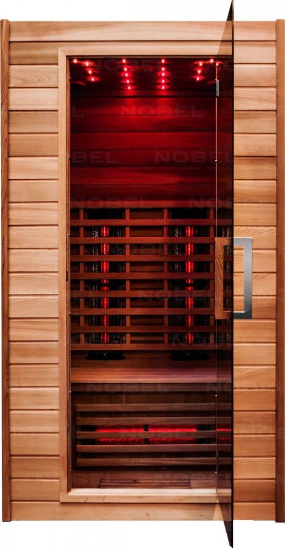Infrarotkabine - Nobel Sauna 110 Zeder