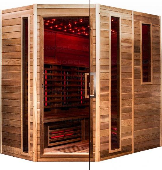 Infrarotkabine - Nobel Sauna 210 Zeder