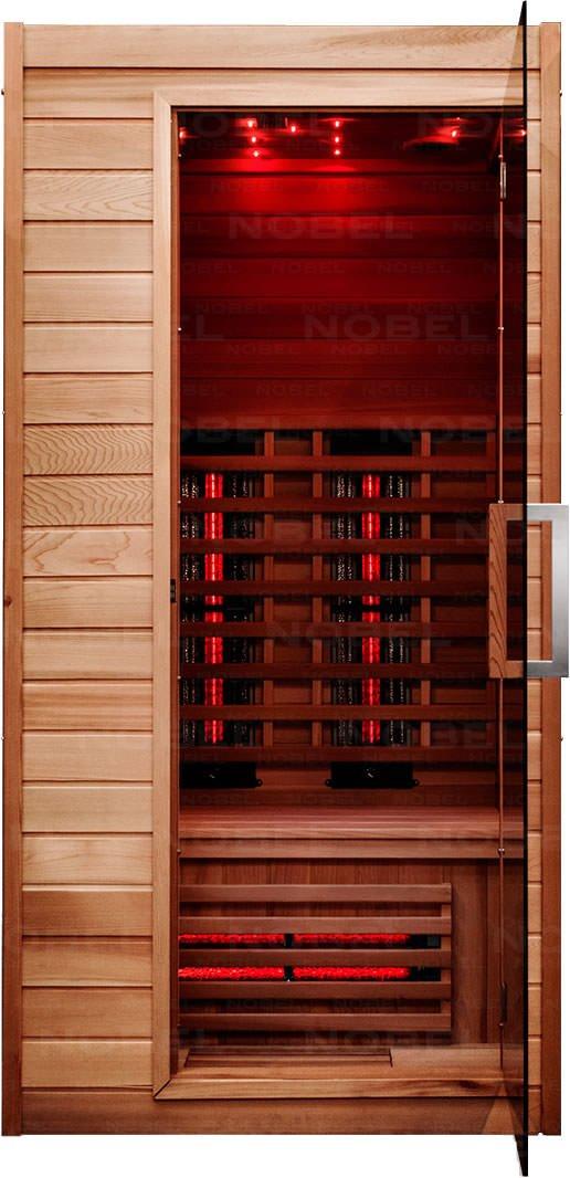 Infrarotkabine - Nobel Sauna 90 Zeder