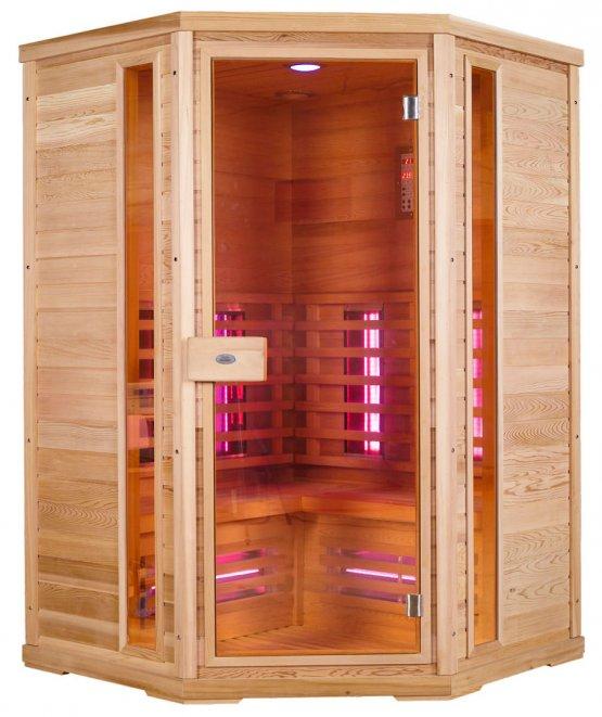Infrarotkabine - Nobel Sauna 130C Hemlock