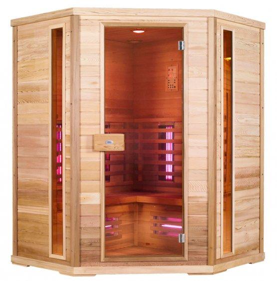 Infrarotkabine - Nobel Sauna 150C Hemlock