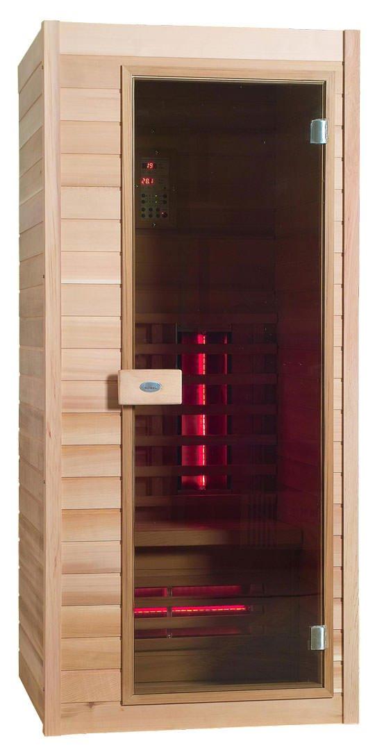 Infrarotkabine - Nobel Sauna 90 Hemlock