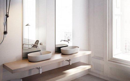 Aufsatzwaschbecken - Bathco Toulouse Cru