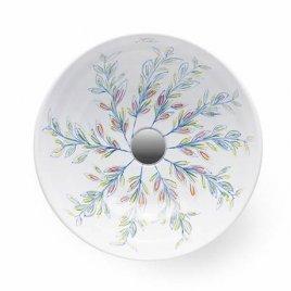 Aufsatzwaschbecken - Bathco Floral II