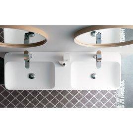 Doppelwaschbecken - Bathco Bari Solid Surface