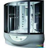 Dampfdusche mit Whirlpool - Wellgems U6810