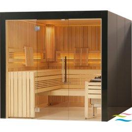 Sauna - Viliv Komfort Plus Colorglas (Grundpreis)