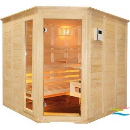 Sauna - Saunalux Finnia 5-Eck (Abverkauf)